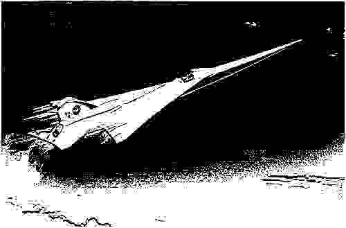 Проект сверхзвукового пассажирского авиалайнера QueSST