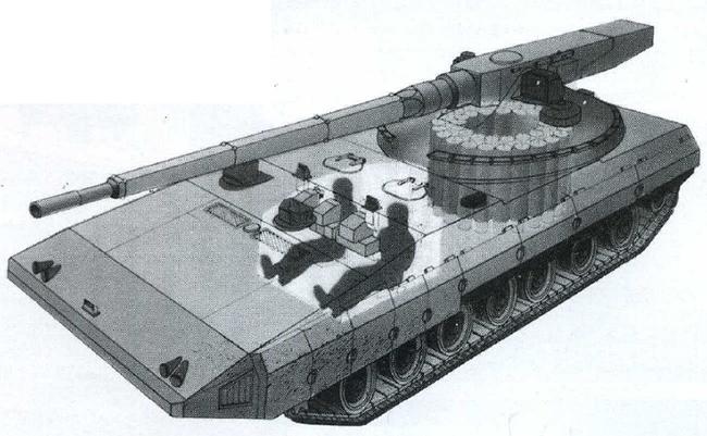 Проект перспективного танка «Объект 299»