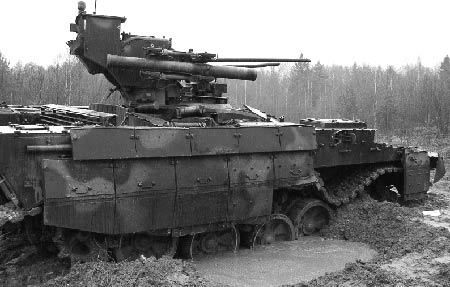 Боевая машина поддержки танков (БМПТ)
