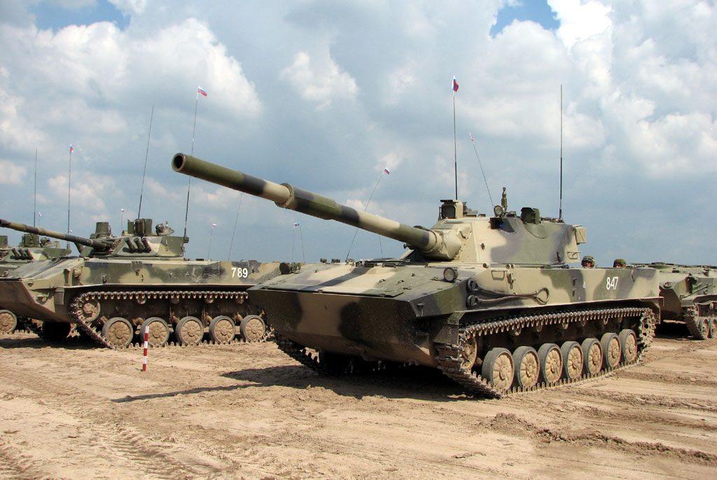 Легкий танк/ самоходная пушка 2С25 Спрут-СД