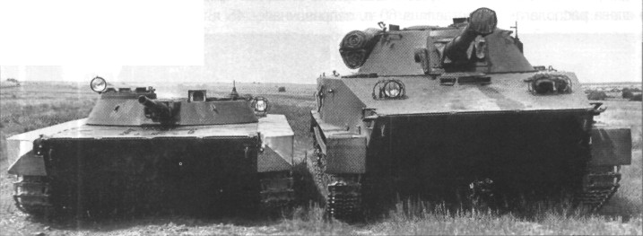 Легкий танк Объект 911Б