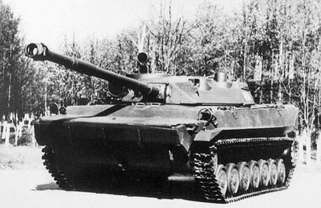 Легкий танк Объект 934 Судья