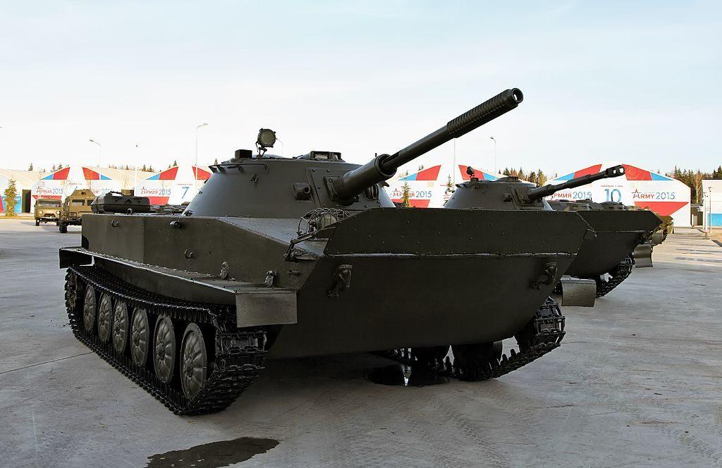 Легкий танк ПТ-76 Объект 740