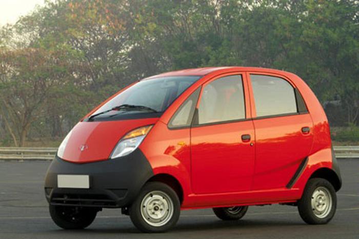Tata Nano - самый дешевый автомобиль