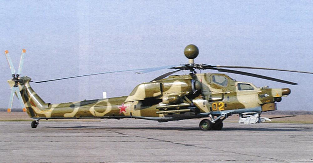 Противотанковый вертолет Ми-28