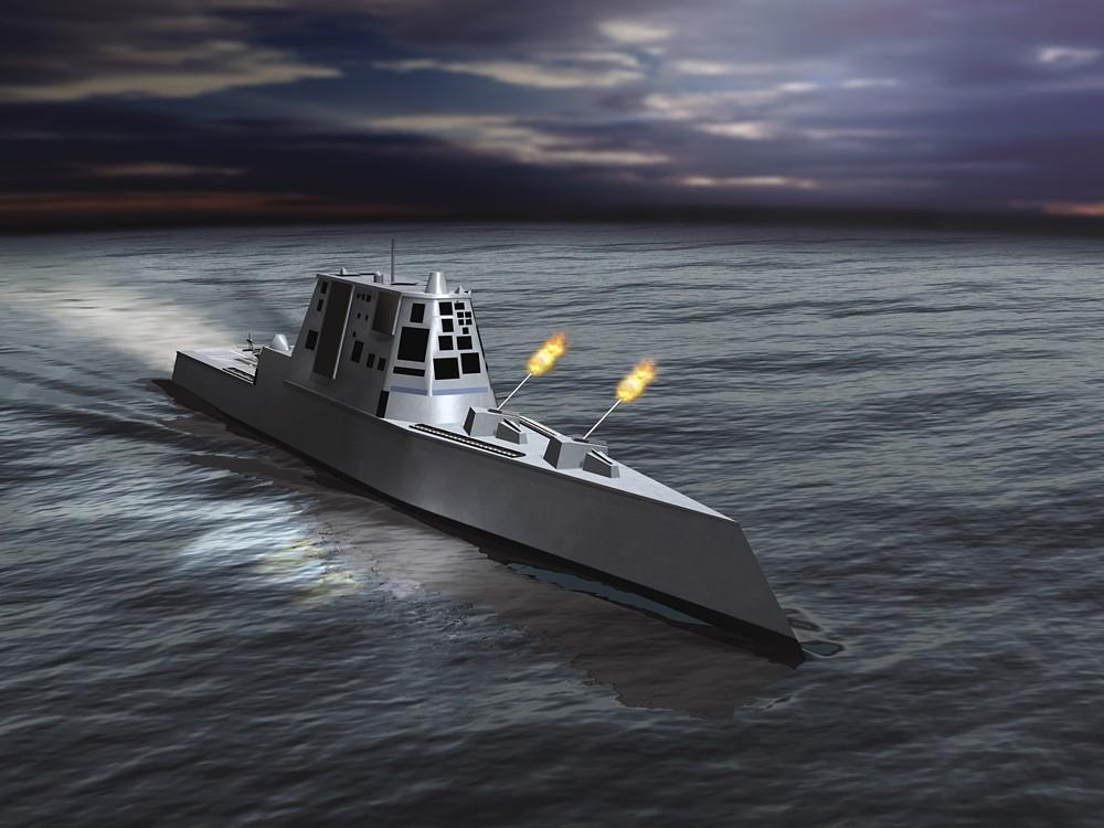Эсминцы США DDX Zumwalt (Зумвальт)