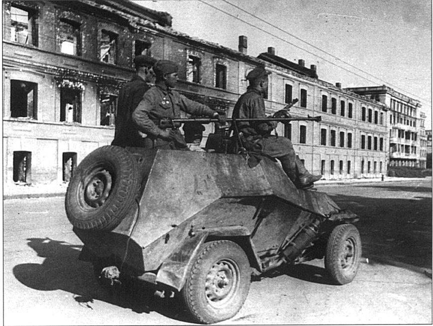 Советский бронеавтомобиль БА-64