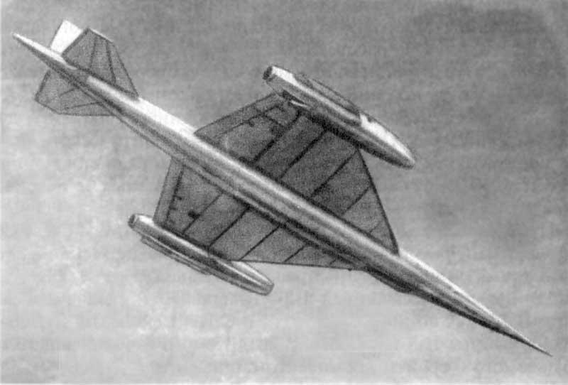 НМ-1 самолет-аналог стратегического разведчика