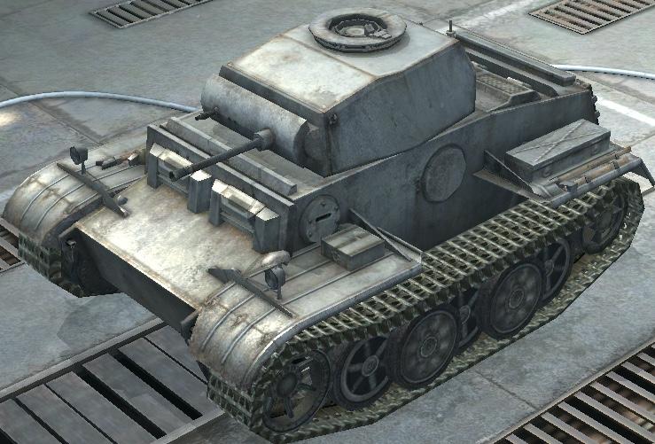 Pz. II J (Pz.Kpfw. II Ausf. J) Джедай. Wot blitz