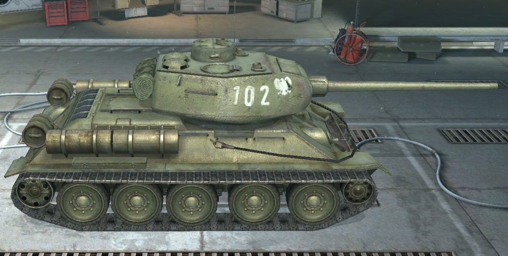 Т 34-85 Rudy (Рудый). Wot Blitz. Руди
