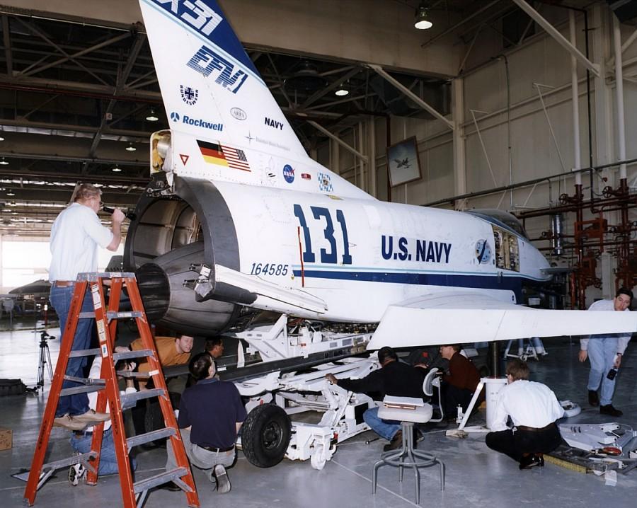 Х-31А (Экспериментальный Сверхманевренный Самолет)