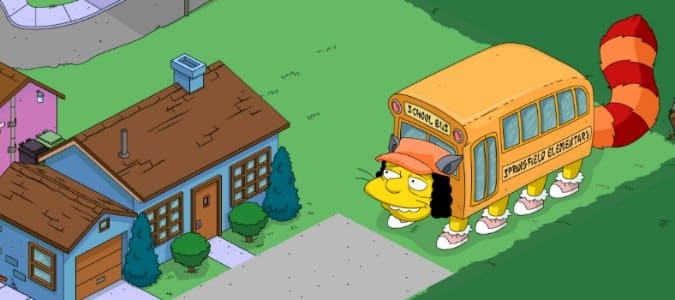 Котобус Из Игры Симпсоны (The Simpsons™: Tapped Out)